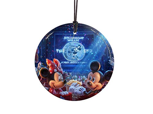 (Trend Setters Disney - 90 Years of Mickey Mouse - Anniversary Collectible - Starfire Prints Hanging Glass)