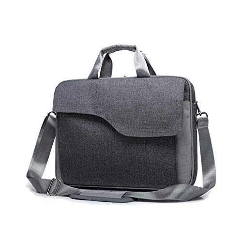 15.6 inch Canvas Laptop Messenger Shoulder Bag Notebook Briefcase For HP Pavilion / Omen 15t / Envy x360 / Spectre x360, Dell Inspiron 15 / XPS 15, 15
