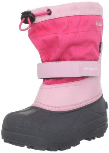 Columbia Powderbug Plus II Waterproof Winter Boot,Satin Pink