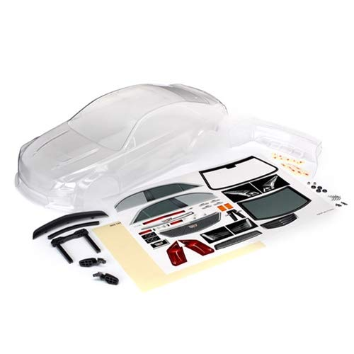 4 Tec Body (Traxxas TRA8391 Body, Cadillac CTS-V (Clear, Requires Painting)/ Decal Sheet)