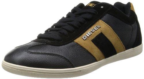 Diesel Heren Vintagy Lounge Fashion Sneaker Zwart / Breen