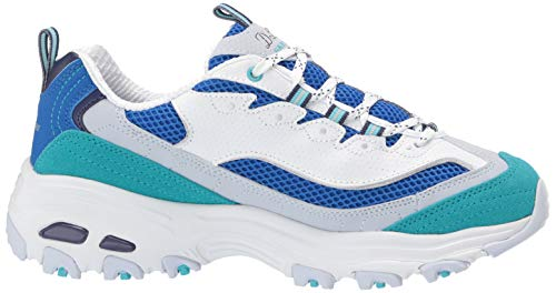 Chance D'lites seconde Bianco Skechers Donna Sneaker qUEadgv