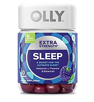 Amazon.com: Olly Extra Strength Sleep Gummy! 50 sabores de ...