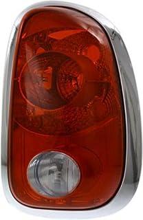 TopPick 63132751333-63132751334-R Sidemarker Lights FOR Mini Cooper Cooper S 2007-2016 Red//Black Side Bumper Marker Fender Lights