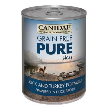 Canidae Grain Free Pure Sky Duck & Turkey Canned Dog Food, Case of 12, 13 oz. by CANIDAE