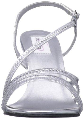 Dyeables , Sandales pour femme Argent argent - Argent - argent, 6 UK
