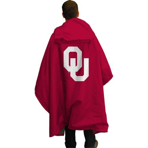 NCAA Oklahoma 3 in 1 Rain Poncho (Coleman Poncho Adult compare prices)