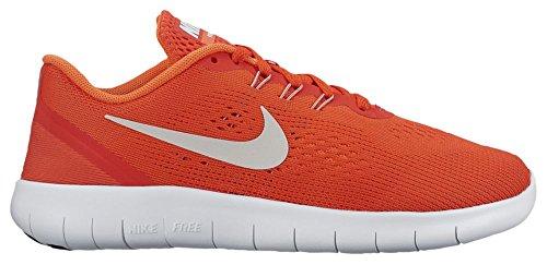 Lauflernschuhe Unisex O MAX PLATINUM Kinder ORANGE PURE Sneakers Nike Free RN PInRFRqU