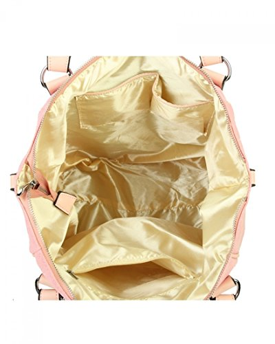 Canvas Diamante Cm 41 Bag Light 30 X Weight 5 W Soft Shopper Women's Bag Handbags Grey Women Shoulder X D Star Large H LeahWard 18 For Bags wqxYtEWFUt