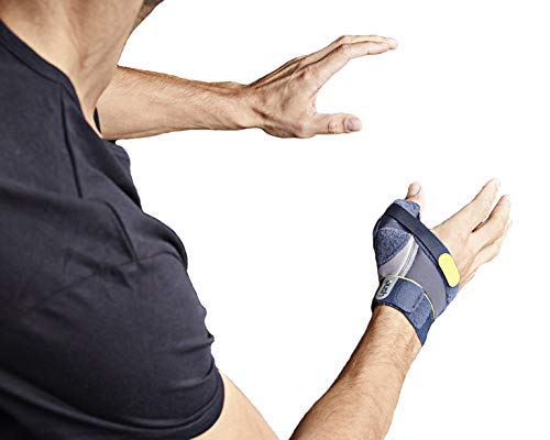 Push Sports Thumb Brace - Stabilizes Skier's Thumb, Optimizes Function (Left Small)