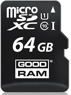 Goodram 64GB microSDXC Class 10 UHS I Memoria Flash SDXC ...