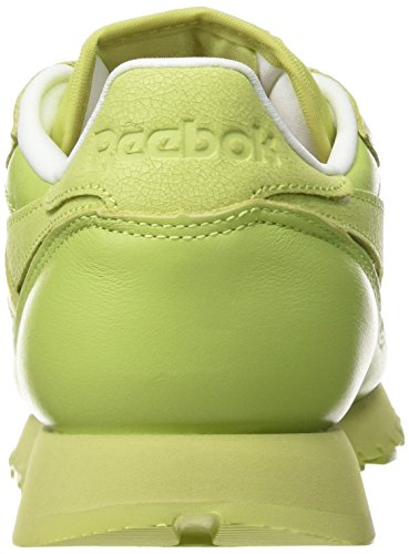 Classic stunning Rosette Blanco Reebok Zapatillas Para Spirit Leather White Green Mujer CnxSwqZd4