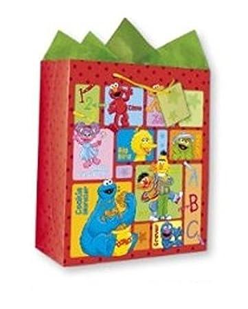 Amazon.com: Sesame Street and Friends Elmo Zoe Abby Cadabby Big ...