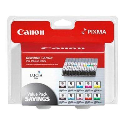 Canon - PGI-9 - Value Pack - 10 Assorted Colors PIXMA iX7000 MX7600 Pro9500