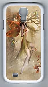 Fairy Forest Meadow Custom Samsung Galaxy I9500/Samsung Galaxy S4 Case Cover Polycarbonate White