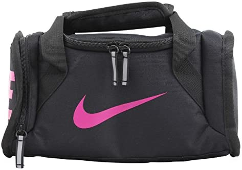 Nike Deluxe Insulated Tote Lunch Bag (Black/Active Pink, One Size)