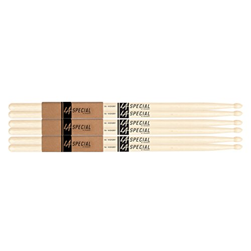 la-specials-by-promark-5a-hickory-drumsticks-3-pack