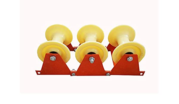 High IntensityTriplet Type Cable Pulley Nylon Wheel Cable Sheave