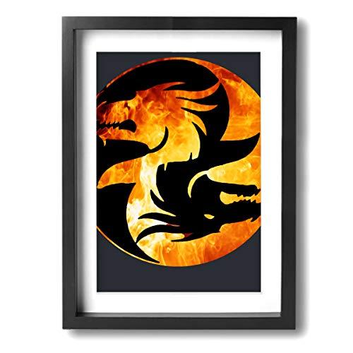 Chinese Original Dragon Painting - Maxwellmore 12