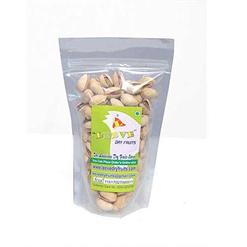 Leeve Dry Fruits California Salted Pistachios Khara Pista, 400Gms by Leeve Dry Fruits