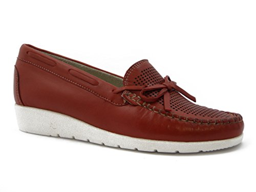 Rubber Comfort With summer Sole Moccasin Flexible And slip 9500 Leather Shoes Non Kelidon BFnnzgT