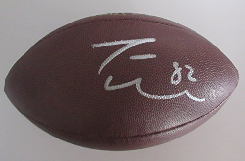 Jason Witten Signed Wilson NFL Football W/PROOF, Picture of Jason Signing For Us, Dallas Cowboys, Pro Bowl, Tennessee (Dallas Cowboys Autographed Pro Football)