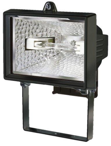 Brennenstuhl Halogenstrahler H 150 IP54 schwarz In- und Outdoor, 1171240
