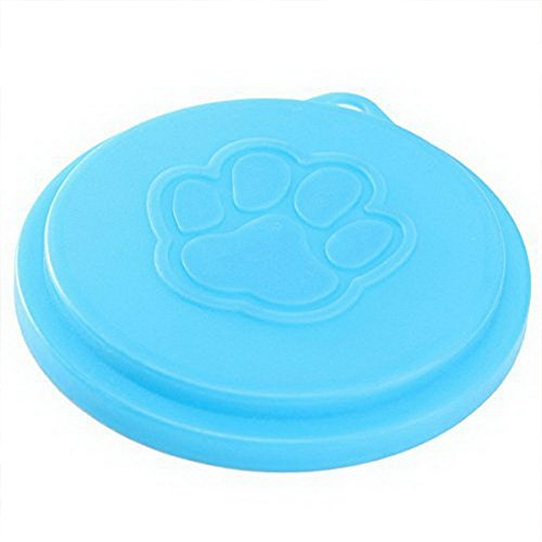diffstyle Multipurpose Tight Seal Plastic Food Storage Can Lid for containers, Jars, Mugs or Dog, Cat & Other Pets Canned Goods Multiple Sizes (Random Color) (L/pc)