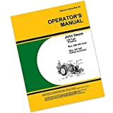 John Deere 246 446 247 447 Corn Planter Owners Operators Manual 2 or 4 Row for Operating Maintenance and Adjustments Seed Rates