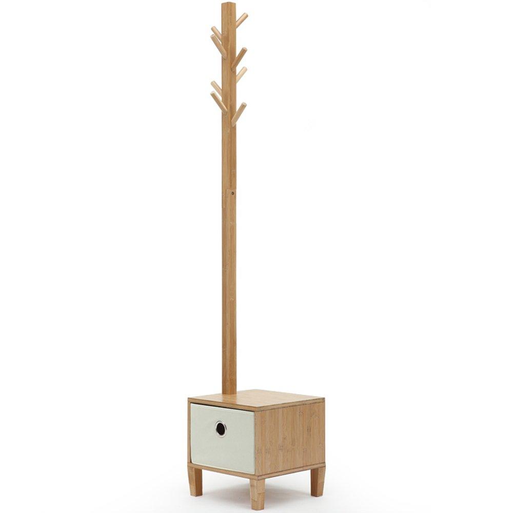 Simple Coat Rack / Floor Clothes Rack / High 177cm Living Room Hanging Hanger / Changing Stool Bedroom Storage Frame