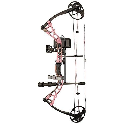 Diamond Archery Infinite Edge Pro Bow Package, Pink Blaze, Right Hand