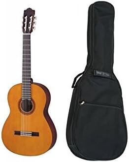 Yamaha CS40 - Lote de guitarra clásica 3/4 y funda: Amazon.es ...