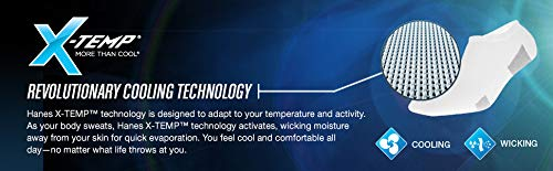 Hanes mens Freshiq X-temp Active Cool Ankle Socks 12 Pack Casual Sock