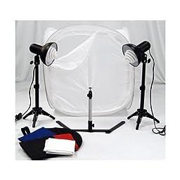 Portable Studio Lighting with Studio Light Tent Kit