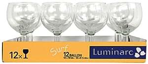 Luminarc 8812068 - Juego de 12 copas de balón (25 cl)