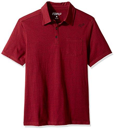 Fox Poloshirt Legacy Rot Gr. M