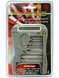 Hitech - Versatile Battery Checker Tester for AA, AAA C, D, 9V, CR123A, CR2, CR-V3, Button Cells