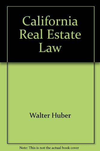 california real estate principles huber pdf
