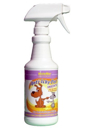 MisterMax Anti Icky Poo Unscented Odor Remover (Pint) by Mister Max