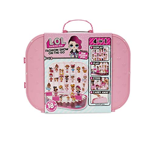 L.O.L. Surprise! Fashion Show On-The-Go Storage/Playset with Doll Included - Light Pink