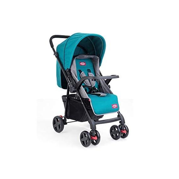 Nuluv Stroller - Reversible Handle for 0-36 Months (Dark Cyan)