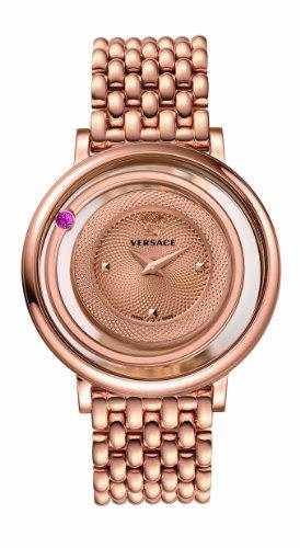 Versace Women's VQV090015 Venus Analog Display Quartz Gold Watch