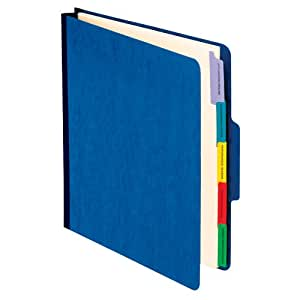 Pendaflex Vertical Personnel Folders, 1/3 Cut, Top Tab, Letter, Blue Pack of 10 (SER-1-BL)