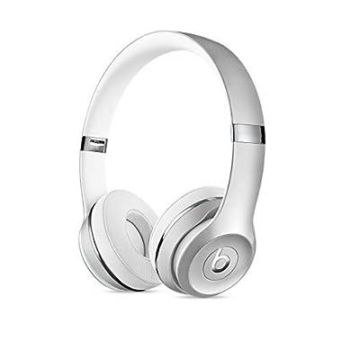 Beats by Dr. Dre Beats Solo3 Wireless On-Ear Headphones - Silver (Certified Refurbished)