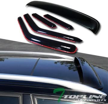 For Nissan Pathfinder 96-04 Window Deflectors In-Channel Ventvisor Smoke Front /&