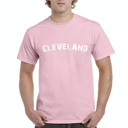 Xekia Cleveland Ohio State Home Men's T-Shirt Tee XX-Large Light Pink