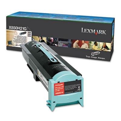 (Lexmark International Toner Cartridge,For X850E/X852E/X851E,30000 Page Yield,Black)