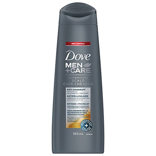 Dove Men +Care Derma+care Scalp Anti-drandruff Itch Relief 2-in-1 Shampoo and Conditioner 355 ml, 0.41 kg