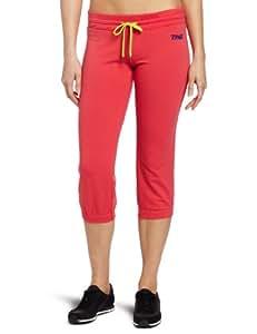Zumba Fitness LLC Women's Crave Capri Sweat Pant, Candy Coral, X-Small