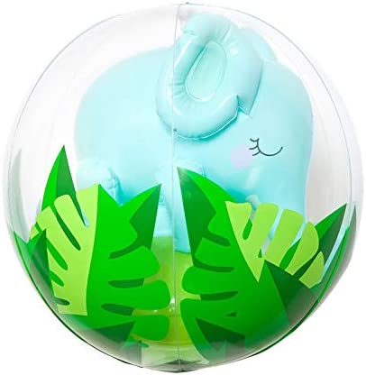 Amazon.com: SunnyLife - Pelota de playa hinchable 3D para ...
